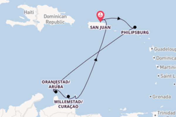 Voyage from San Juan with the Explorer of the Seas