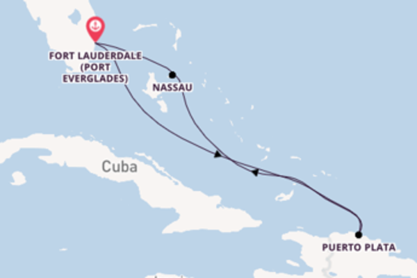 6 day cruise with the Celebrity Apex to Fort Lauderdale (Port Everglades)
