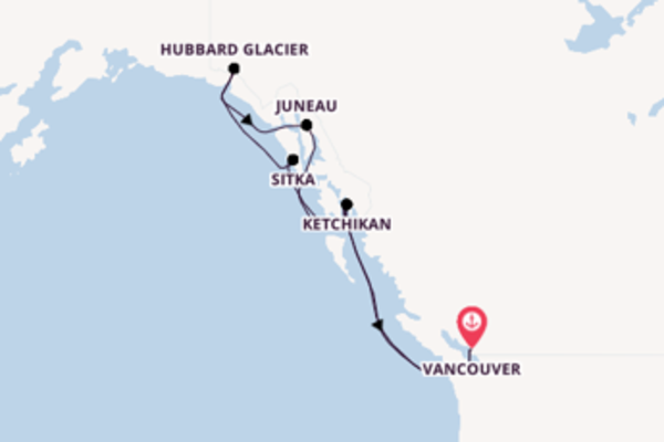 Cruise from Vancouver with the Celebrity Eclipse