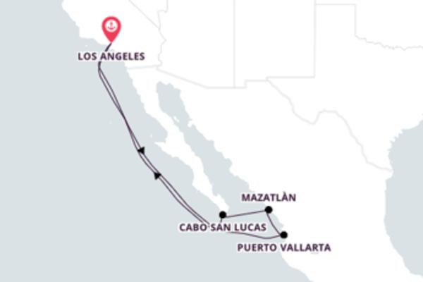 Navegue pela Riviera mexicana com o Carnival Panorama