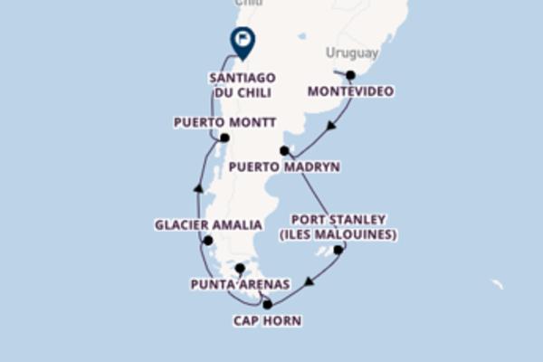Montevideo, depuis Buenos Aires à bord du bateau Coral Princess