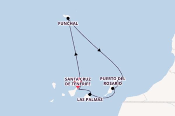 8 Tage Kanarische Inseln Reise