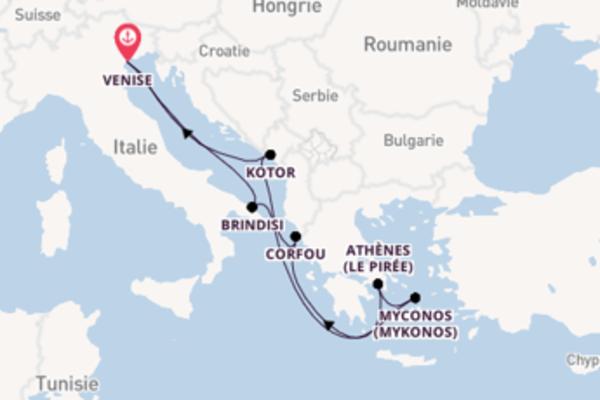 8 jours pour découvrir Athènes (Le Pirée) au départ de Venise