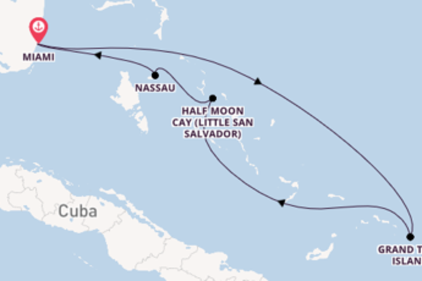 6 day expedition from Miami