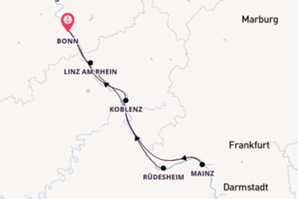 Cruise met Phoenix Cruises naar Koblenz