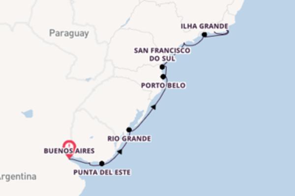 Cruise in 13 dagen naar Rio de Janeiro met Regent Seven Seas Cruises