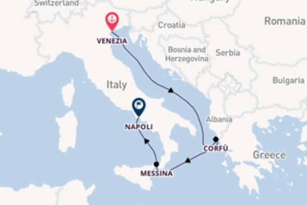 Viaggio di 5 giorni a bordo di Costa Luminosa