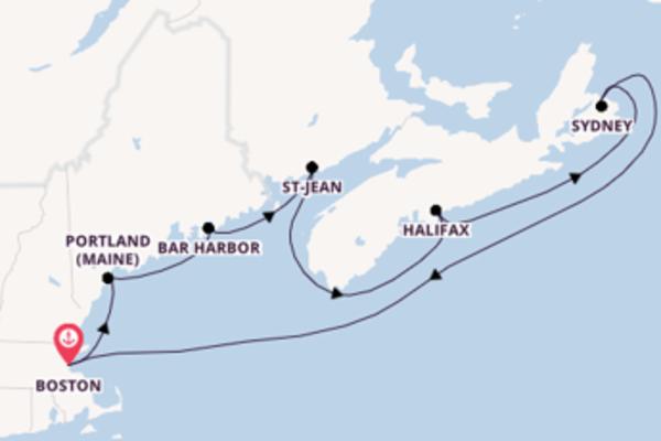 Douce croisière de 9 jours avec Royal Caribbean