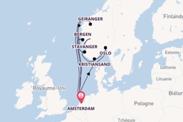 Visitez avec Holland America Line, la destination: Oslo