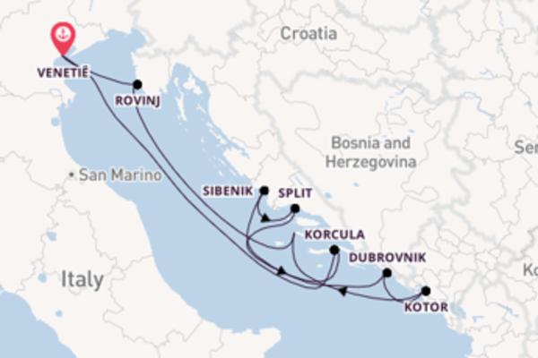 Cruise met Ponant naar het verrassende Venetië