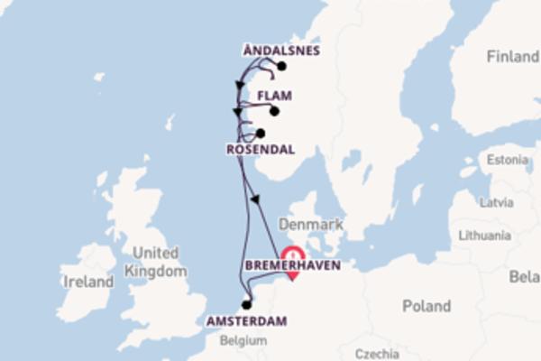 Fare rotta verso Amsterdam a bordo di Costa Favolosa