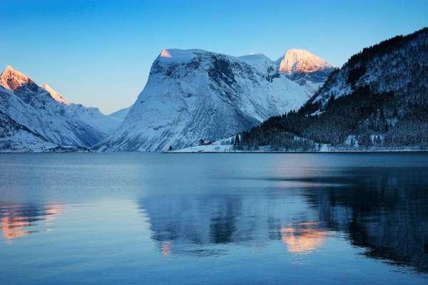 Hjørundfjord, Noorwegen