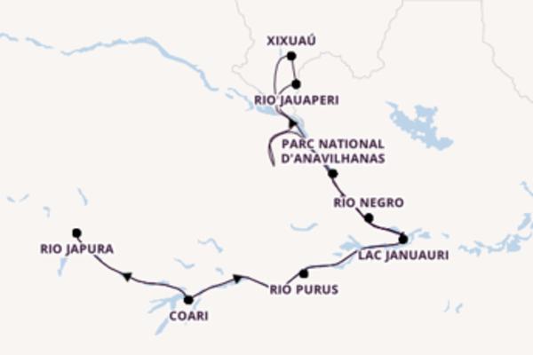 La croisière des 3 fleuves