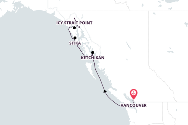 Spectacular Icy Strait Point with Seabourn Sojourn