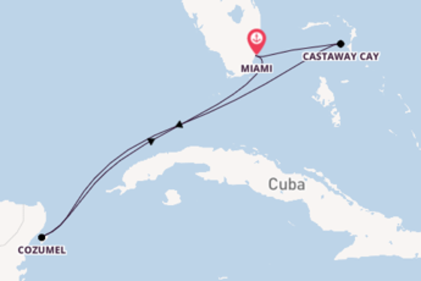 Castaway Cay bewonderen met de Disney Magic