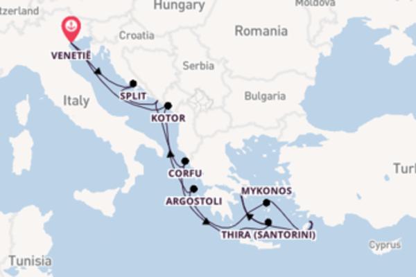 Cruise in 12 dagen naar Venetië met Norwegian Cruise Line