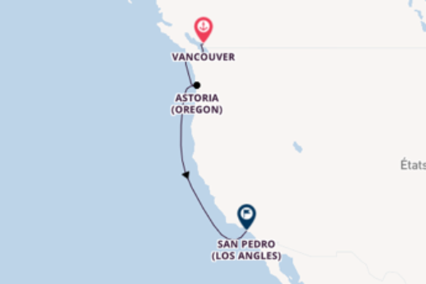 Explorez avec Princess Cruises, la destination: Astoria (Oregon)