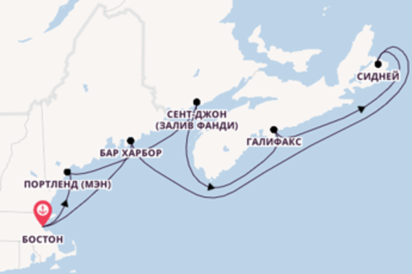 Дивное путешествие на 8 дней с Holland America Line