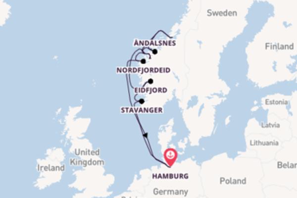 In 11 dagen naar Hamburg