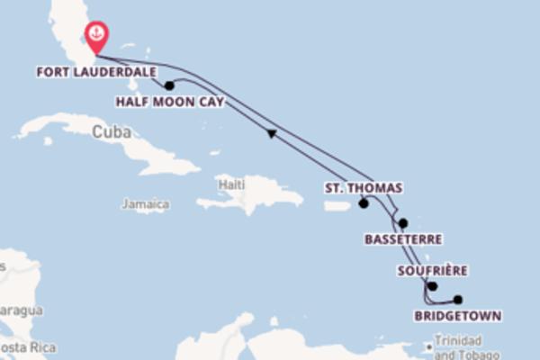 Ontdek Bridgetown met Holland America Line