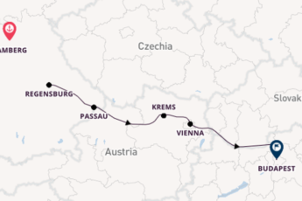 12 day voyage to Budapest from Bamberg