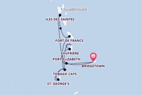 Bridgetown und Iles des Saintes erleben