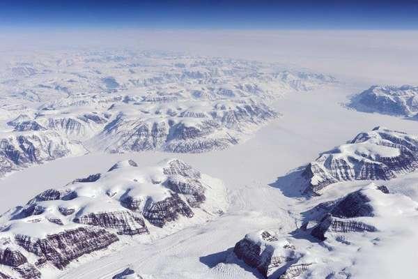 Evigheids-Gletscher, Grönland