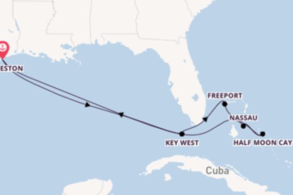 Attraente viaggio di 9 giorni a bordo di Carnival Dream