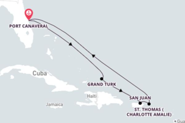 Incrível viagem pelos mares do Caribe com o Mardi Gras