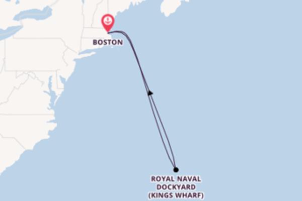 Herrliche Reise ab Boston