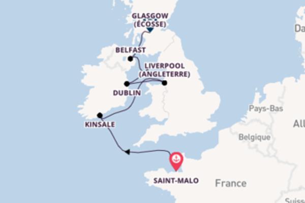 9 jours de navigation à bord du bateau L'Austral depuis Saint-Malo, France