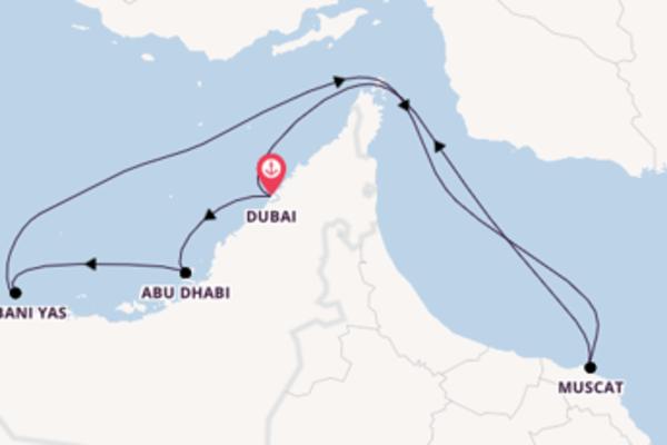 Entdecken Sie 8 Tage Dubai und Dubai