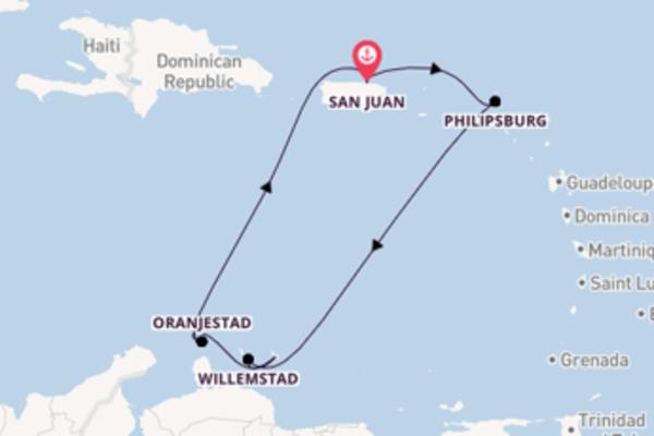Ga mee op de Voyager of the Seas naar San Juan