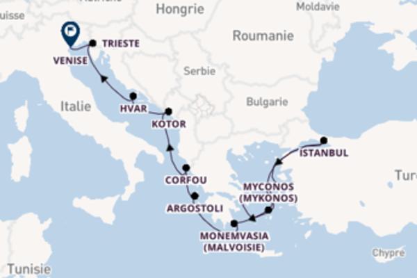 Inoubliable virée de 13 jours depuis Athènes (Le Pirée)
