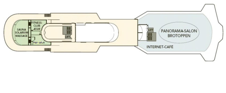 MS Finnmarken Deck 8