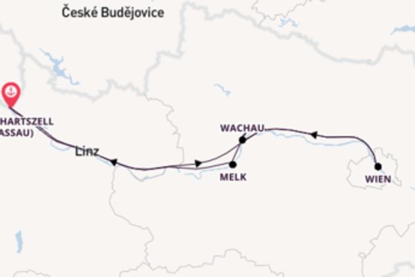 Einmalige Reise über Krems in 4 Tagen