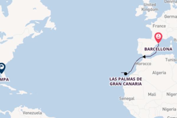 Scopri Arrecife (Lanzarote) e Tampa