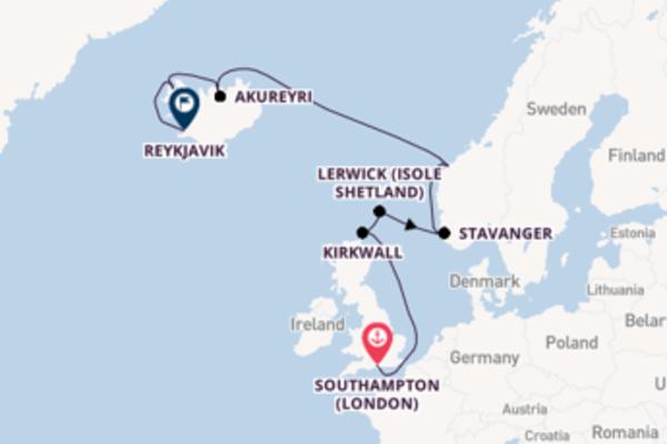 Crociera da Southampton (London) verso Kirkwall