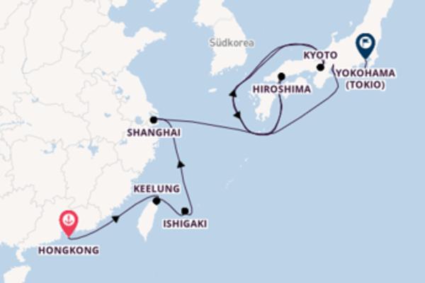 Eindrucksvolle Reise ab Hongkong