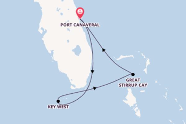 A bordo di Norwegian Sun fino a Port Canaveral