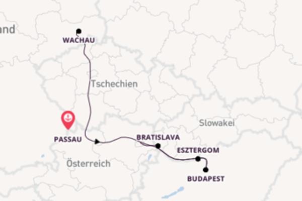 Donaukreuzfahrt Magie der Vielfalt