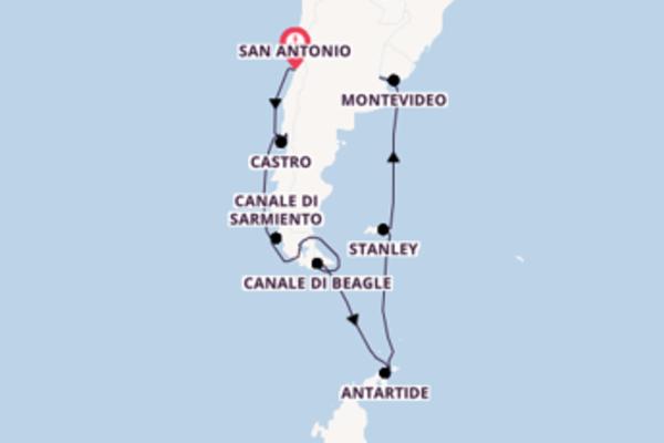 Fare rotta verso Fiordi cileni a bordo di Seabourn Quest