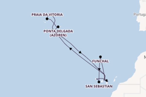 Atemberaubende Reise über Santa Cruz de La Palma in 15 Tagen