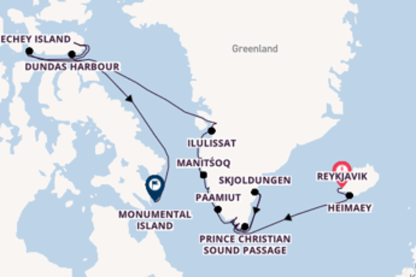 Sailing with the Seabourn Venture to St. John's from Reykjavik