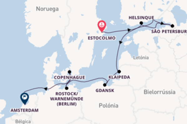 Memorável viagem de 11 dias a bordo do Norwegian Jade