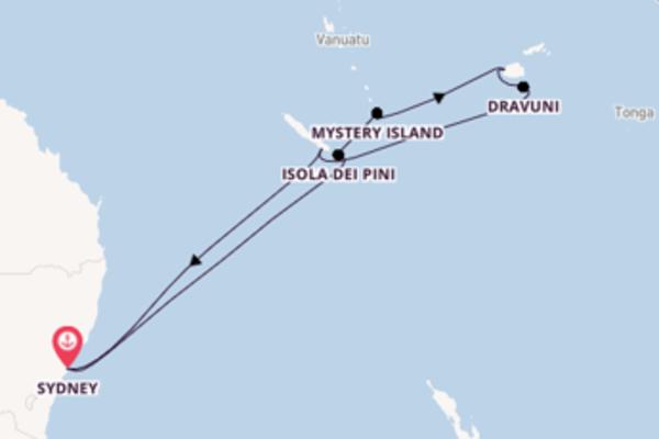 Meravigliosa crociera di 13 giorni verso Port Denarau a bordo di Carnival Splendor