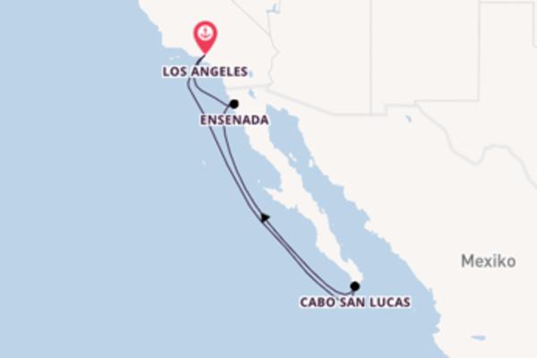 Eindrucksvolle Reise nach Los Angeles