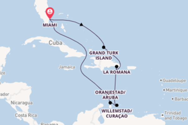 Journey with Carnival Cruise Lines from Miami