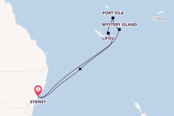 9 Tage Pazifik Kreuzfahrt