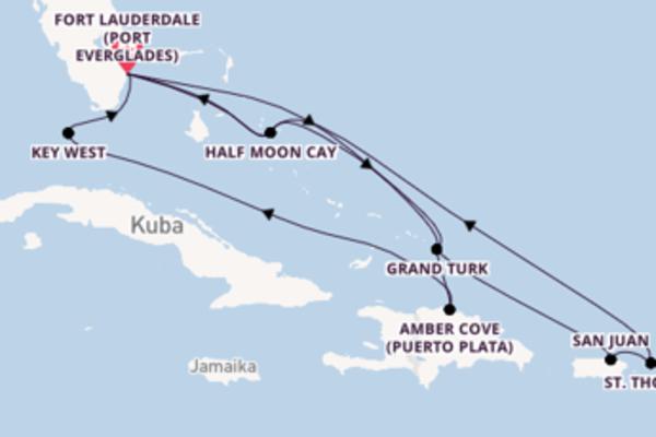 Faszinierende Reise ab Fort Lauderdale